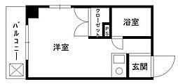 ハイツチャコール[3階]の間取り