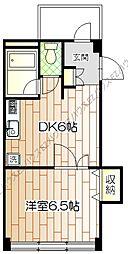 村田第3ビル[3階]の間取り