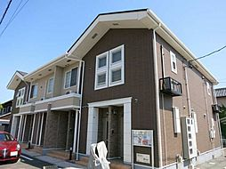 愛知県岡崎市福岡町字北藤六の賃貸アパートの外観