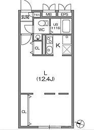 ZESTY駒澤大学II[3階]の間取り