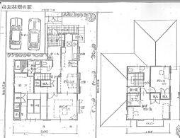 [一戸建] 福岡県福岡市南区長住5丁目 の賃貸【/】の間取り