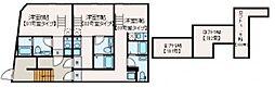 マレーア高円寺 1階1Kの間取り