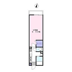 AJ新鎌ヶ谷II[3階]の間取り