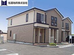 愛知県豊橋市大崎町字西里中の賃貸アパートの外観