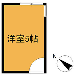 HOUSE-ZOO六番館[203号室]の間取り
