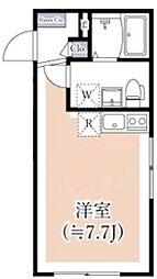 (仮称)世田谷区千歳台3丁目計画 3階ワンルームの間取り