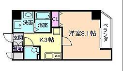 レジディア江戸堀[8階]の間取り