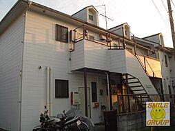 千葉県市川市真間3丁目の賃貸アパートの外観