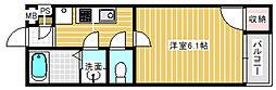 モダンアパートメント平野本町[1階]の間取り