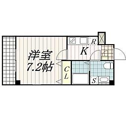 リベルテプレジール幕張[3階]の間取り