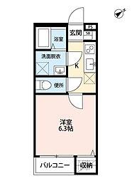 ブルーム検見川(ブルームケミガワ)[1階]の間取り