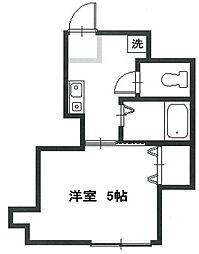 第7Z西村ビル[503号室]の間取り