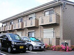 愛知県安城市安城町の賃貸アパートの外観
