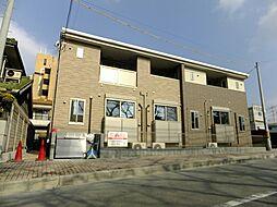 大阪府豊中市野田町の賃貸アパートの外観
