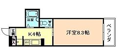 エミネンス梅田西[2階]の間取り