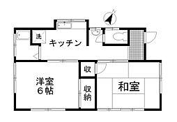 [一戸建] 埼玉県北本市東間3丁目 の賃貸【/】の間取り