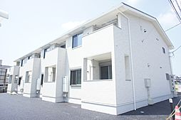 栃木県栃木市平柳町2丁目の賃貸アパートの外観