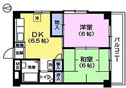 第3泰友マンション[1階]の間取り