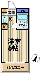 ウィン大船[305号室]の間取り