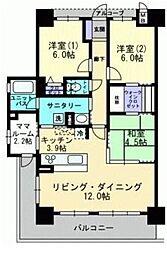 アルファスマート倉敷羽島[5階]の間取り