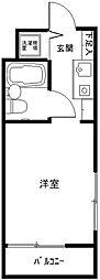ライオンズマンション新横浜A館[301号室]の間取り