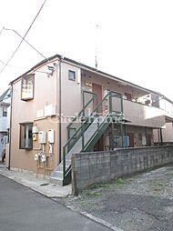 神奈川県横浜市神奈川区松ケ丘の賃貸アパートの外観