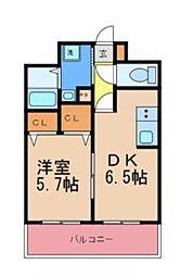 Y'sマンション[202号室]の間取り