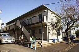 栃木県宇都宮市清原台4丁目の賃貸アパートの外観