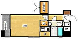 エステート・モア・博多公園通り[13階]の間取り