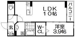 GOODWILL香里園[3階]の間取り