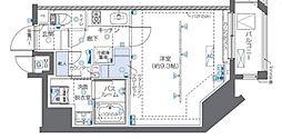 JR山手線 秋葉原駅 徒歩3分の賃貸マンション 10階1Kの間取り