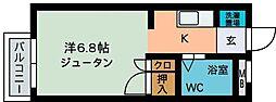 コーポ・シャガール2[103号室]の間取り