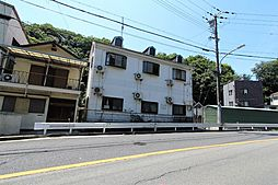 兵庫県神戸市北区鈴蘭台南町8丁目の賃貸アパートの外観