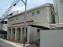 兵庫県神戸市灘区八幡町2丁目の賃貸アパートの外観