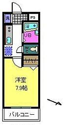 ルーチェII番館[2階]の間取り
