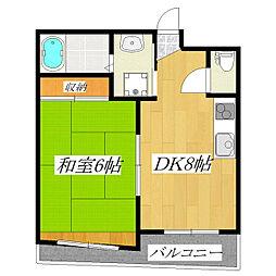 アクシアマンション[102号室]の間取り