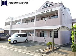 愛知県田原市赤羽根町東瀬古の賃貸アパートの外観