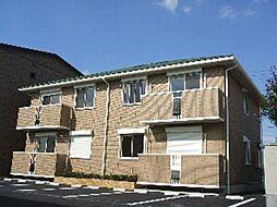 栃木県栃木市平柳町3丁目の賃貸アパートの外観