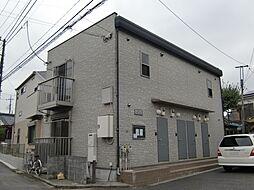 東京都八王子市散田町3の賃貸アパートの外観