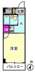 メゾンアヅマ[102号室]の間取り