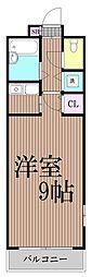 東京都品川区東大井1丁目の賃貸マンションの間取り
