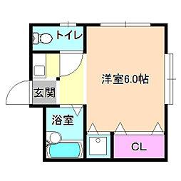フォレスト21[2階]の間取り