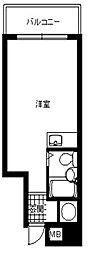 皐月マンション博多[9階]の間取り