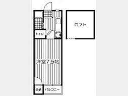 DAISHO TOWN KASUGAI[207号室]の間取り
