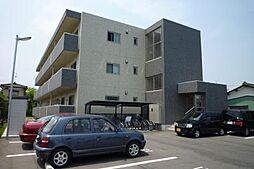 新潟県新発田市住吉町3丁目の賃貸マンションの外観
