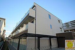 千葉県市川市田尻4丁目の賃貸マンションの外観