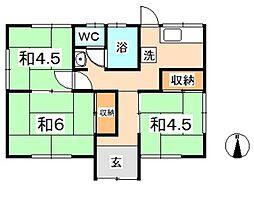 [一戸建] 岡山県倉敷市西阿知町 の賃貸【岡山県 / 倉敷市】の間取り