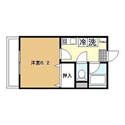 横浜元町ガーデン12[303号室]の間取り