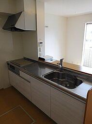ファイン ビューの対面キッチン(IHクッキングヒーター付のシステムキッチン)
