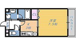 グランドゥール帆屋[1階]の間取り